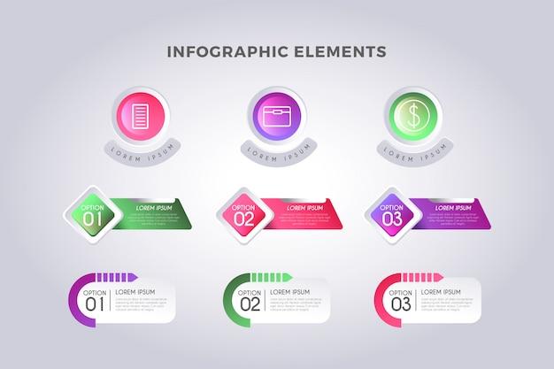 Infografik-schritte-vorlage