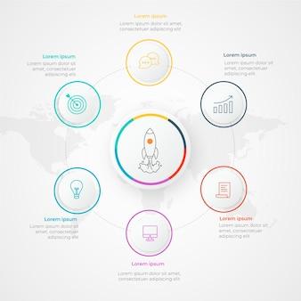 Infografik-startvorlage