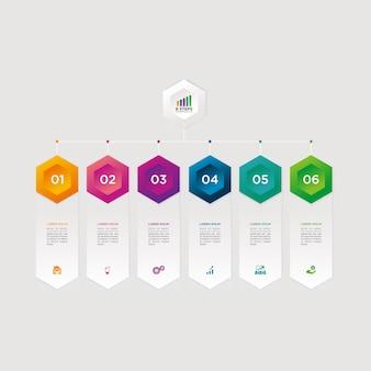 Infografik-vektor-grafik-download-vorlage modern