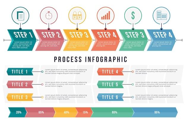 Infografik verarbeiten