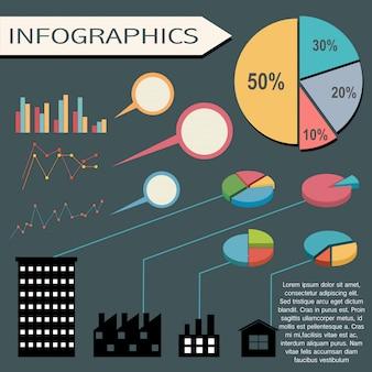 Infografik visuelle darstellung