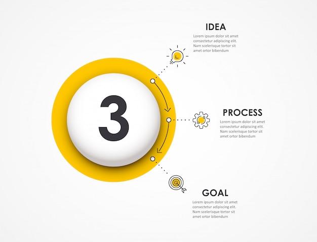 Infografik vorlage Premium Vektoren