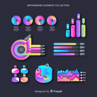 Infografiken element collectio