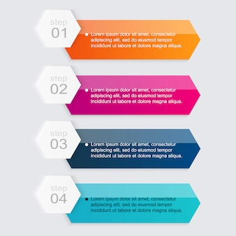 Infografiken elemente im modernen flachen business-stil.