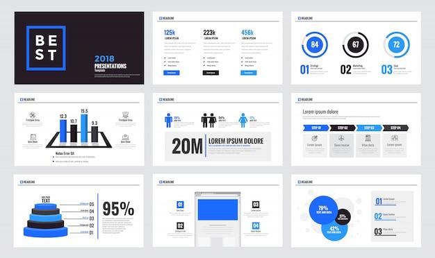 Infografiken folienvorlage