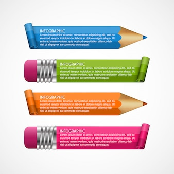 Infografiken für geschäftliche präsentationen.