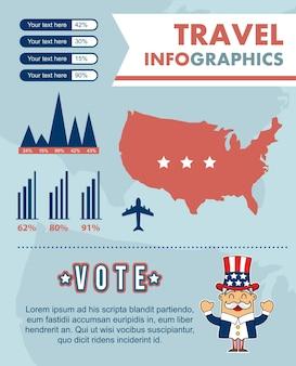 Infografiken mit verschiedenen elementen vektor-illustration festgelegt