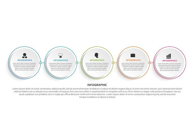 Infografiken zu geschäftsoptionen