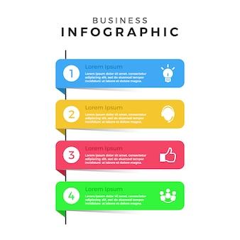 Infografische bannersammlung