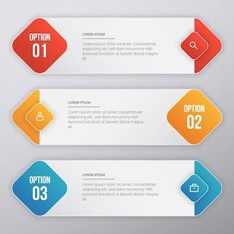 Infografische vorlage design