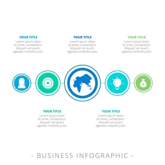 Infograhic template-design