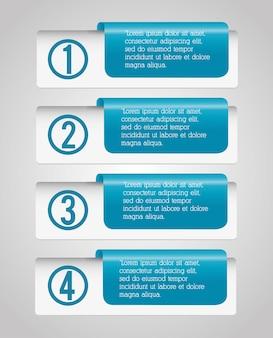 Infographic design des geschäfts
