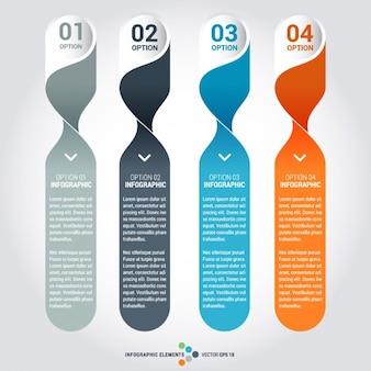 Infographic elementvorlagen set