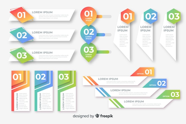Infographic schablone des firmenkundengeschäfts, zusammensetzung von infographic elementen