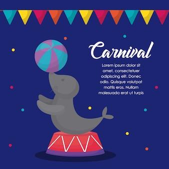 Infographik des Karnevals-Zirkus-Konzeptes