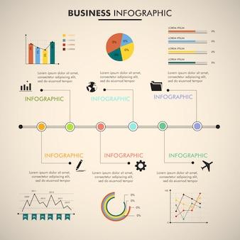 Infographik design vektor