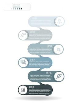 Infographik diagramm design