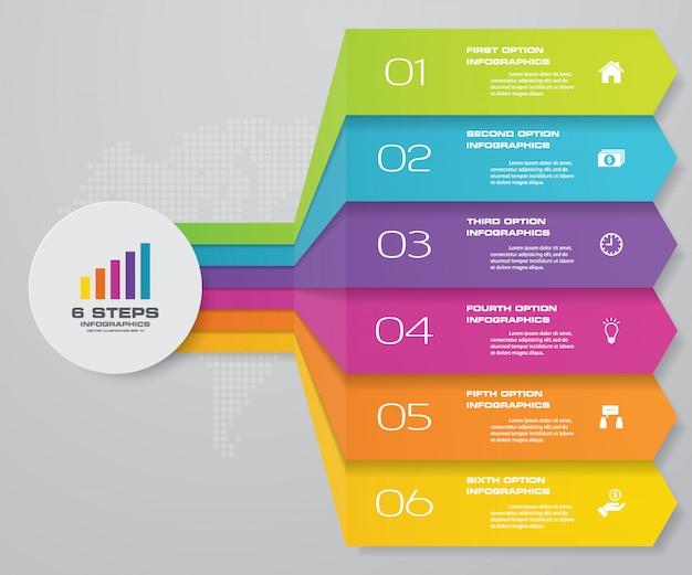 Infographik diagrammelement für datenpräsentation.