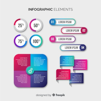 Infographik element collectio