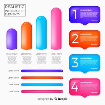 Infographik element collectio