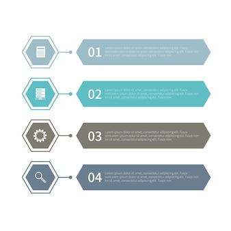 Infographik elemente festlegen
