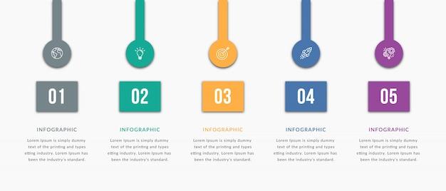 Infographik elemente vorlage