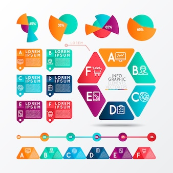 Infographik elemente