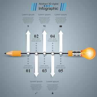 Infographik entwurfsvorlage