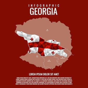 Infographik georgia
