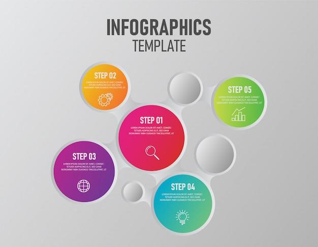 Infographik vorlage