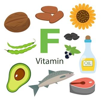 Informationen zu gesundheitlichen vorteilen von vitamin f.