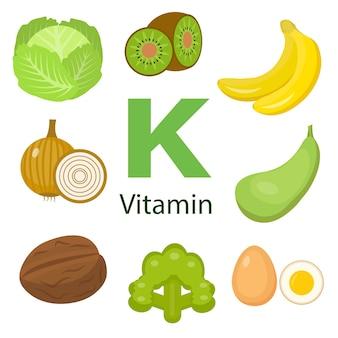 Informationen zu gesundheitlichen vorteilen von vitamin k.