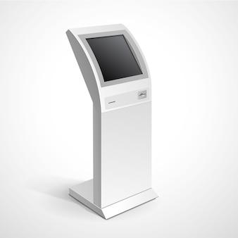 Informationsanzeige monitor terminal terminal stand