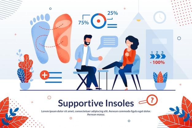 Informationsbanner ist supportive einlegesohlen geschrieben