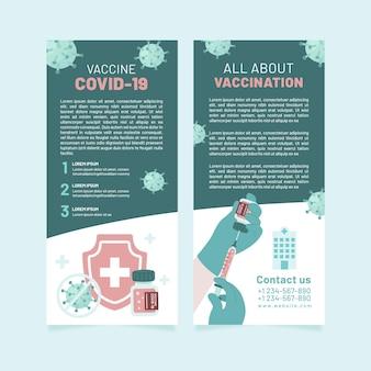 Informationsbroschüre für coronavirus-impfungen