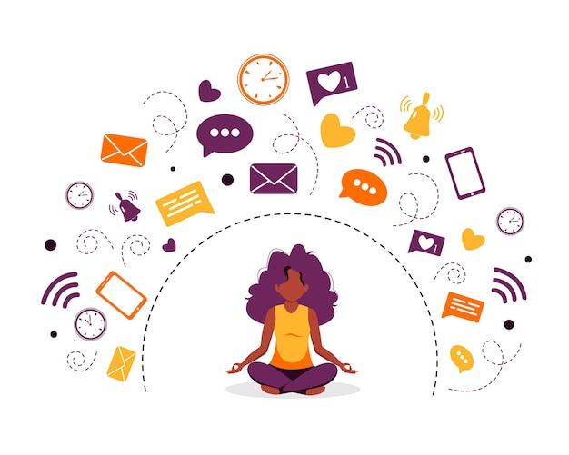 Informationsentgiftung und meditation