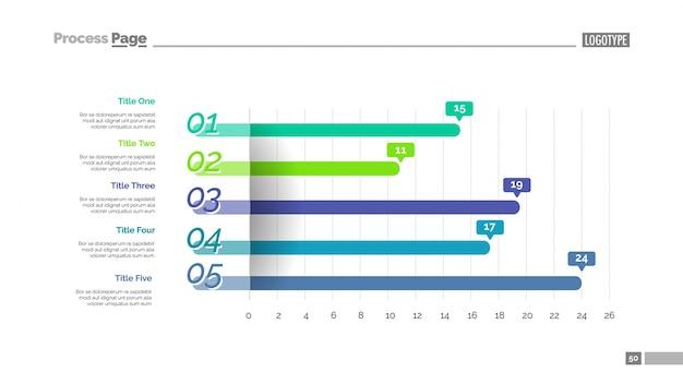 Informationsgrafik diagramm folienvorlage