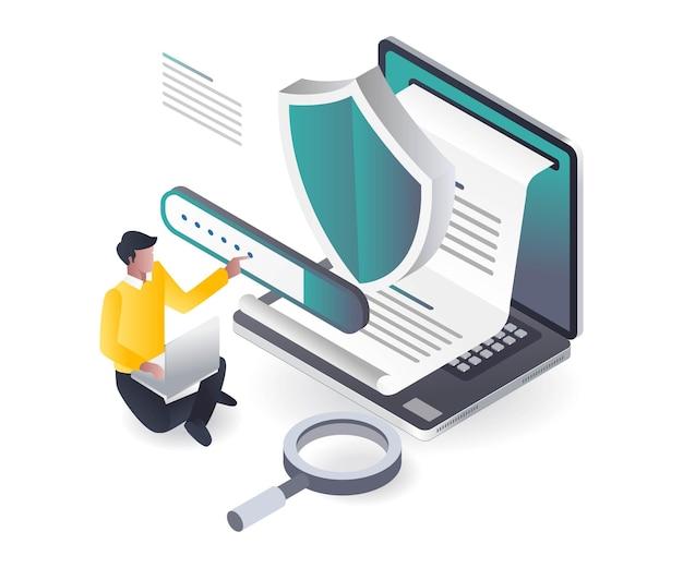 Informationsschutzprogramm und blog