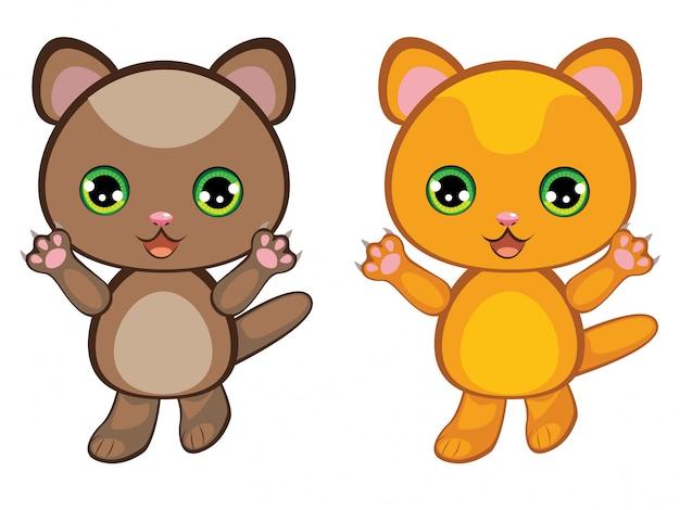 Ingwer-kätzchen-cartoon
