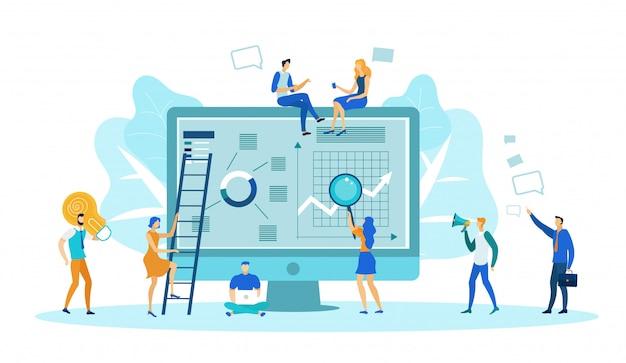 Inhaltsverwaltung, analysieren von grafiken, diagrammen.