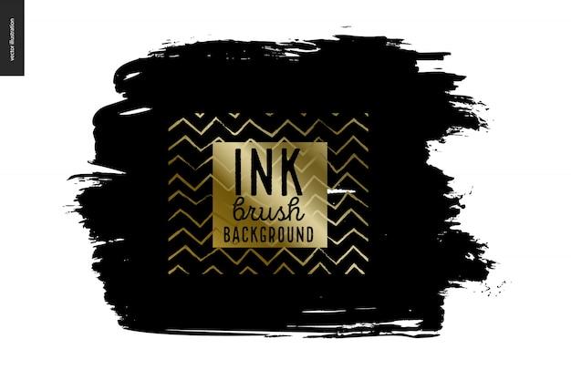 Ink brush hintergrund