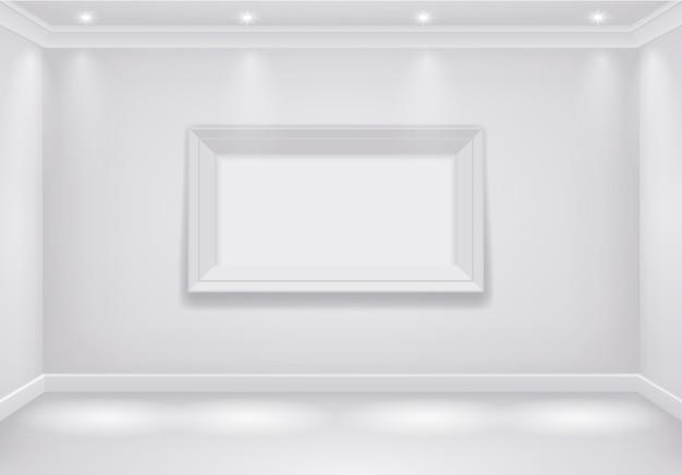 Innenraum weißer raum