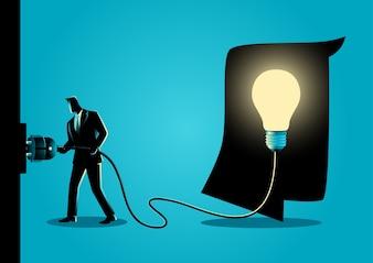 Innovation Konzept Illustration