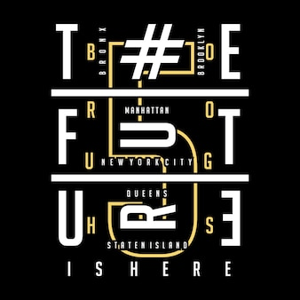 Innovation Typografie T-Shirt-Design