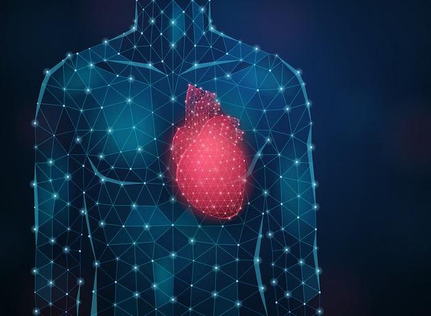 Innovativer medizinhintergrund mit realistischer illustration der forschung und der symbole der modernen wissenschaft
