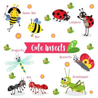 Insekten-wanzen-tierkarikatur