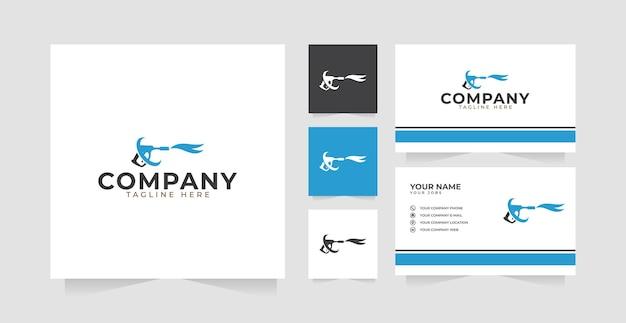 Inspiration für das design des autowasch-logos und visitenkarte