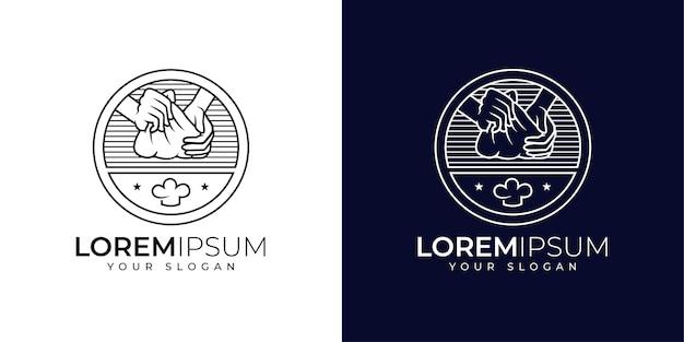 Inspiration für das design des bäckerei-logos