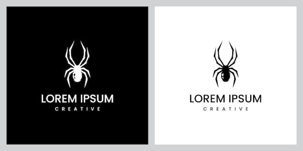 Inspiration für das design des spinnenlogos