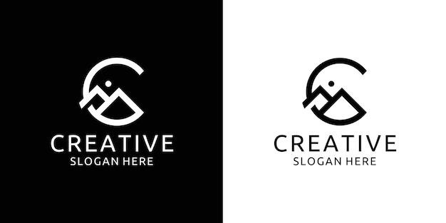 Inspiration für das mountain c-logo